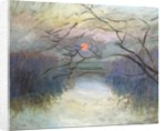 Sunset on the Seine at Vétheuil, 1880 by Claude Monet
