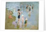 The Beach by Cecilio Pla Gallardo