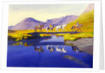 Mirror in the Cairngorms by William Ireland