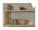 Two Shelves and Bowls by William Packer
