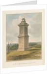 Somerset - Lansdowne Hill - Sir Beville Grenville's Monument, 1827 by John Buckler