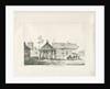 Abbots Bromley - Tudor Market Cross and House by Thomas Peploe Wood