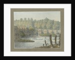 Burton-upon-Trent Bridge and Town by John Buckler