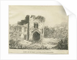 Dudley Castle - The Gatehouse by School English