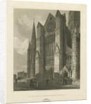 Lichfield Cathedral - South Transept by Charles Wild