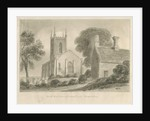 Ipstones Church by John Chessell Buckler
