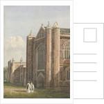 Lichfield Cathedral - North West View by Allen Edward Everitt