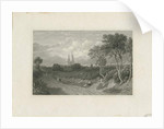 Lichfield Cathedral - West View by School English
