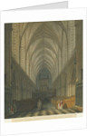 Interior of Lichfield Cathedral - Choir by Charles Wild