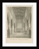 Interior of Penkridge Church by John Buckler