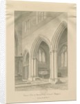 Stafford - Interior of St. Mary's Church by John Buckler