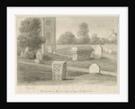 Rocester Church - Monuments and Church-yard by John Chessell Buckler