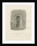 Rolleston Church - South Entrance by John Buckler