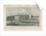 Okeover Hall - lithograph, nd [c 1839] by School English