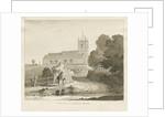 Seighford Church by Thomas Peploe Wood