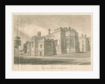 Tixall - Chapel at Tixall Hall by John Buckler