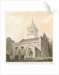 Trentham Church by Thomas Peploe Wood
