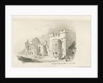 Tutbury Castle - Court Yard by Thomas Peploe Wood