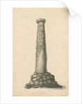 Wolverhampton - Saxon pillar in St. Peter's Church-yard by T Carter