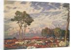 Last Rays, 1903 by Konstantin Fedorovich Bogaevsky