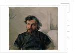 Portrait of Ivan Pochitonov, 1882 by Nikolai Dmitrievich Kuznetsov
