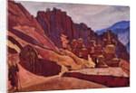The Bonpo monastery in Tibet, 1925 by Nicholas Roerich