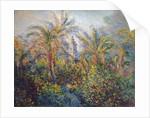 Garden in Bordighera, Impression of Morning, 1884 by Claude Monet