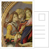 Virgin and Child with Six Angels, called The Madonna of the Pomegranate by Sandro Botticelli
