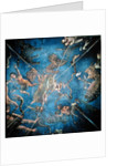 Signs of the Zodiac, detail from the ceiling of the Sala dello Zodiaco by Lorenzo the Younger Costa