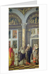 The Circumcision, central panel from the Altarpiece by Andrea Mantegna