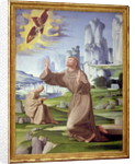 St. Francis Receiving the Stigmata by Pietro Francione