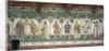 The Nine Worthies and the Nine Worthy Women, detail of Julius Caesar, Joshua, King David, Judas Maccabeus, King Arthur, Charlemagne, Godfrey de Bouillon and Delphine by Giacomo Jaquerio