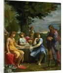 Abraham and the Three Angels by Lodovico Carracci