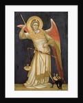 Angel Weighing a Soul by Ridolfo di Arpo Guariento