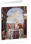 Lorenzo de' Medici surrounded by artists, by a statue of Plato by Giovanni Mannozzi
