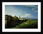 View of Turin from the Gardens of the Palazzo Reale by Bernardo Bellotto