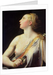 Lucretia by Parmigianino