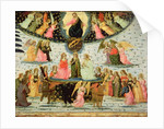 Triumph of Eternity, inspired by 'Triumphs' by Petrarch by Jacopo del Sellaio