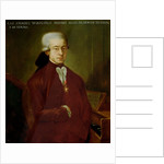 Portrait of Wolfgang Amadeus Mozart by Austrian School