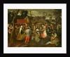 Peasant Fair by Pieter Bruegel the Elder