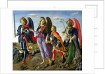 The Three Archangels and Tobias by Francesco Botticini