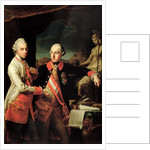 Joseph II of Austria and Leopold II of Tuscany by Giovanni Panealbo or Panalbo