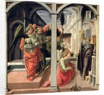 The Annunciation with Three Angels by Fra Filippo Lippi