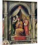 Coronation of Pope Paul II by Giovanni di Lorenzo Cini