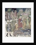 The Separation of Abraham and Lot by also Manfredi de Battilori Bartolo di Fredi