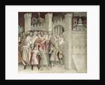 The Crowd at the Entrance to Jerusalem by Barna da Siena