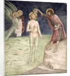 Baptism of Christ by Barna da Siena