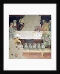 The Marriage at Cana by Barna da Siena