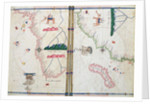 Map of Africa and the Cape of Good Hope by Jacopo Russo