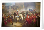 Entry of Charles VIII into Florence in 1494 by Giuseppe Bezzuoli